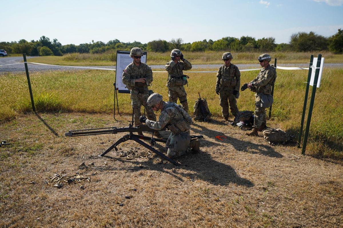Expert Infantry Badge training