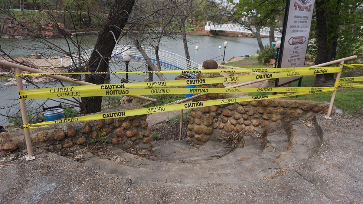 Bath Lake closed