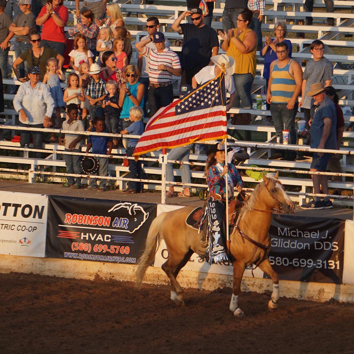 Lawton Rangers Rodeo opening night