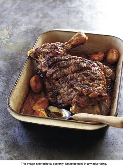Slow roast lamb for Easter Sunday dinner