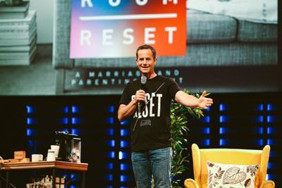 Kirk Cameron 'Living Room Reset'