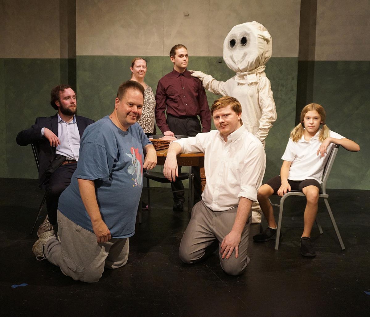 """Blue Moon's cast from """"Pillowman"""""""