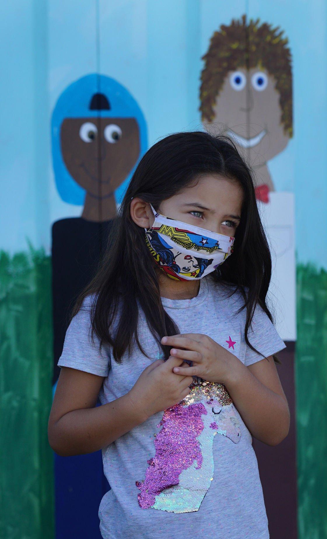Mask wearing in the Lawton School system