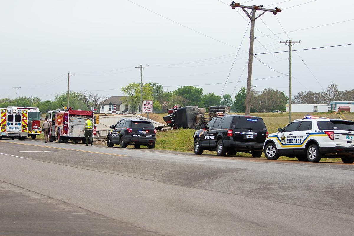 Vehicle accident on McCracken Road