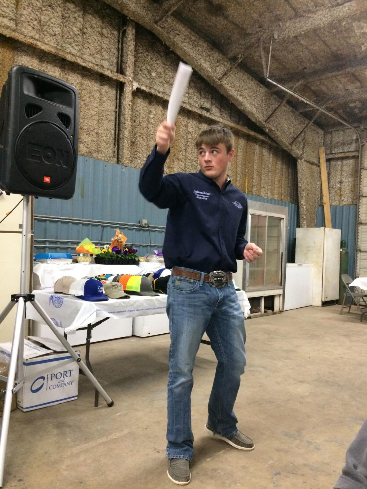 Central High FFA hosts labor auction