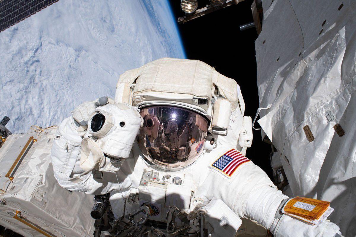 Army astronaut
