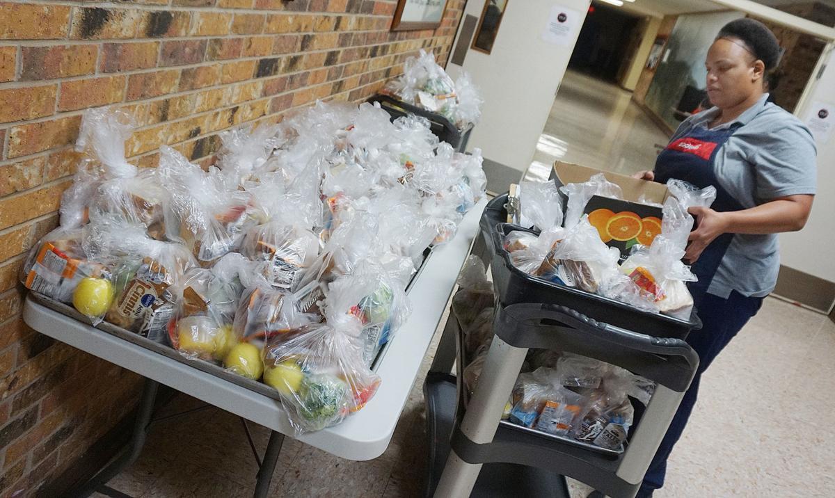 feeding Site for Lawton School children