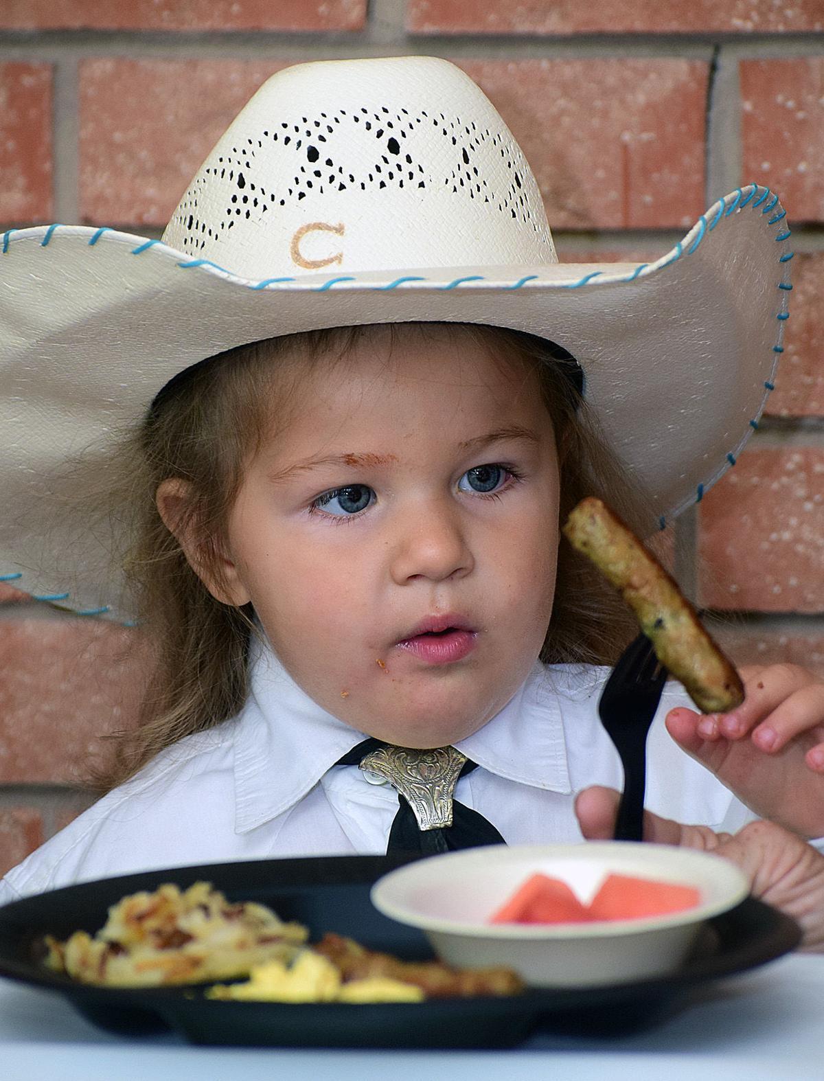 Lawton Rangers' annual rodeo breakfast
