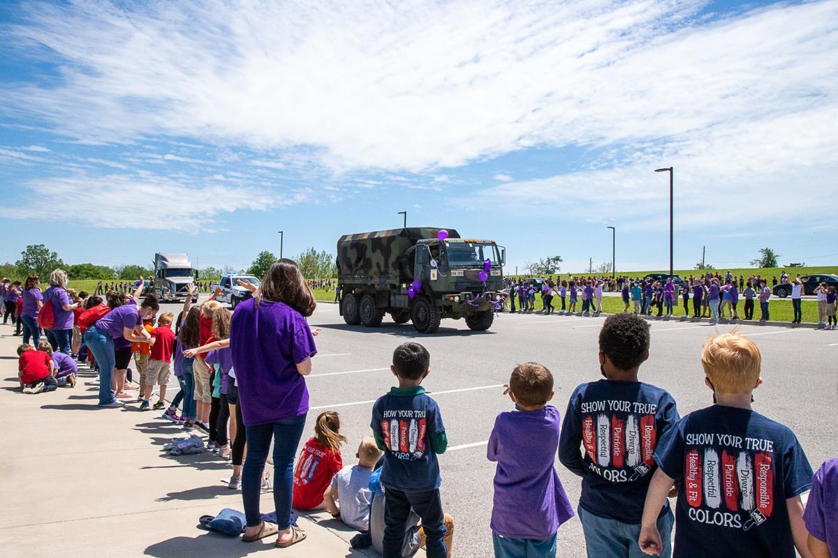 Freedom Elementary parade