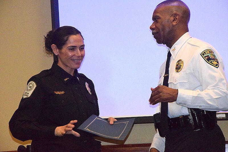Police graduation