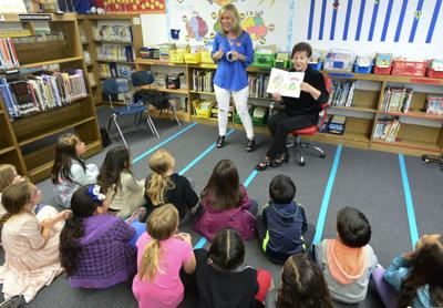 Children's book authored by Ryan Teixeira unveiled at Pacific Christian School reading