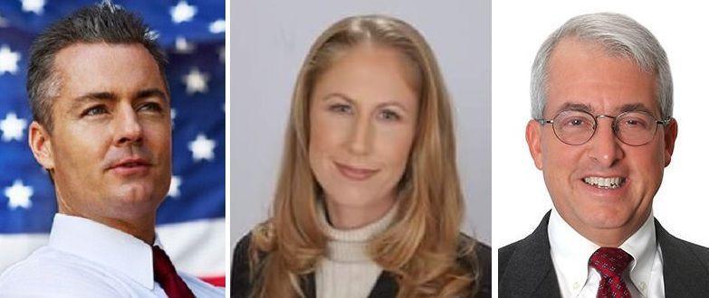 Republican gubernatorial candidates Allen, Smith, Cox