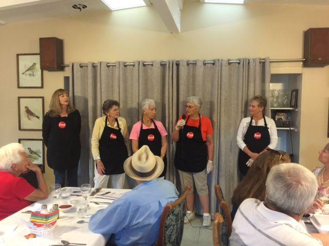 Sherry Musgrove and friends serve Buellton seniors
