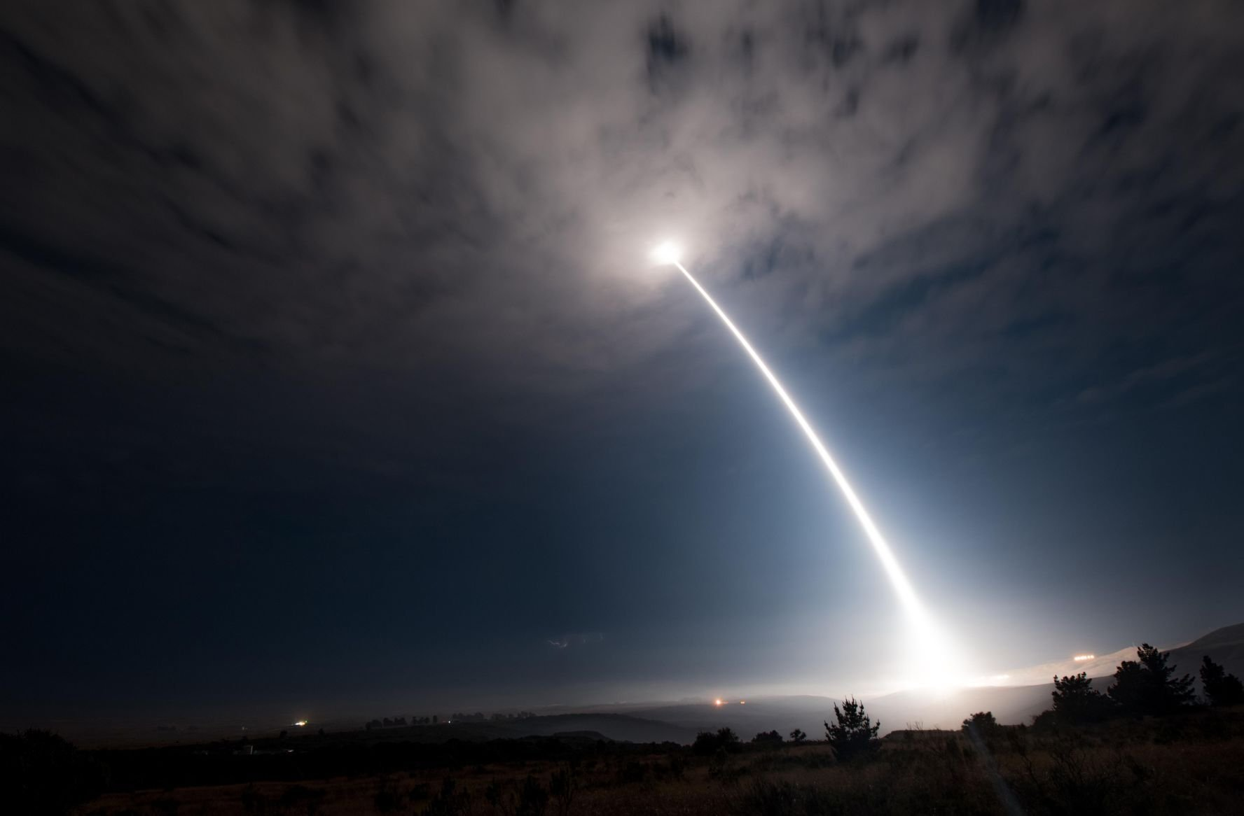 USA successfully tests ICBM: Watch missile soar through the sky
