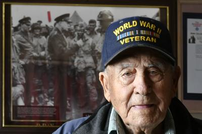 'I wouldn't change anything': Guadalupe D-Day paratrooper Bindo Grasso looks back 75 years