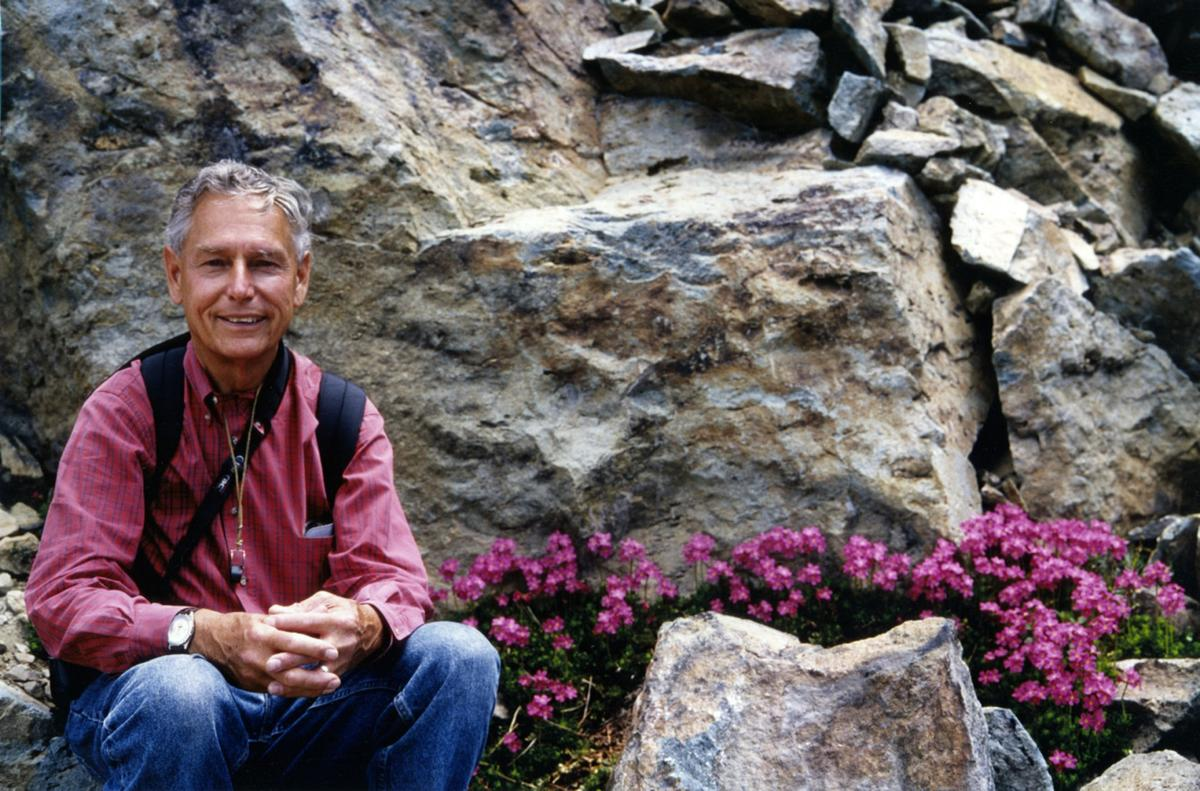 Botanist Bob Haller