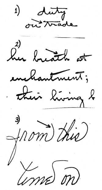 Handwriting analysis of serial killers