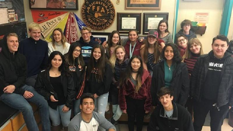 Twenty-four students at SYVUHS earn animal science certification