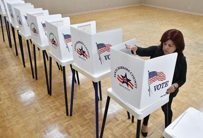 Polling place setup
