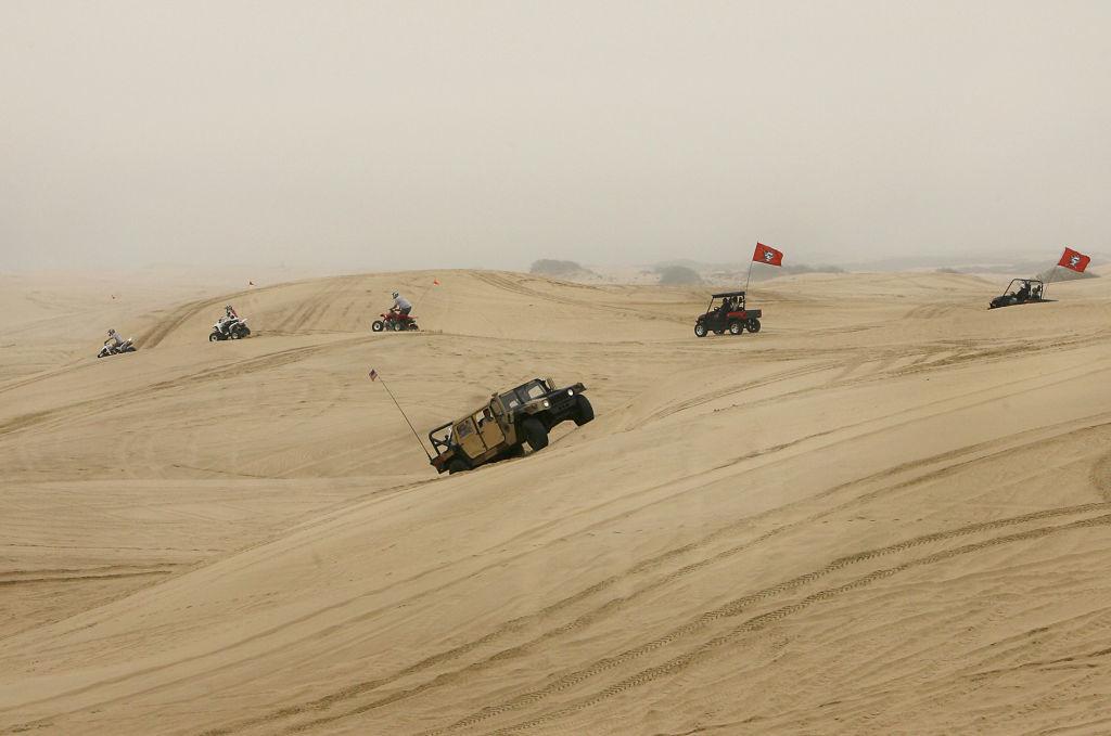 Buggies in the Dunes
