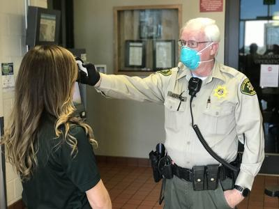 Sheriff's Office adjusts staffing after deputies test positive for COVID-19