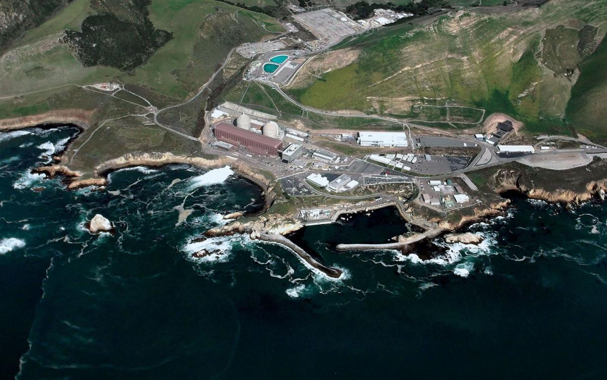 Diablo Canyon Power Plant, aerial, 2014