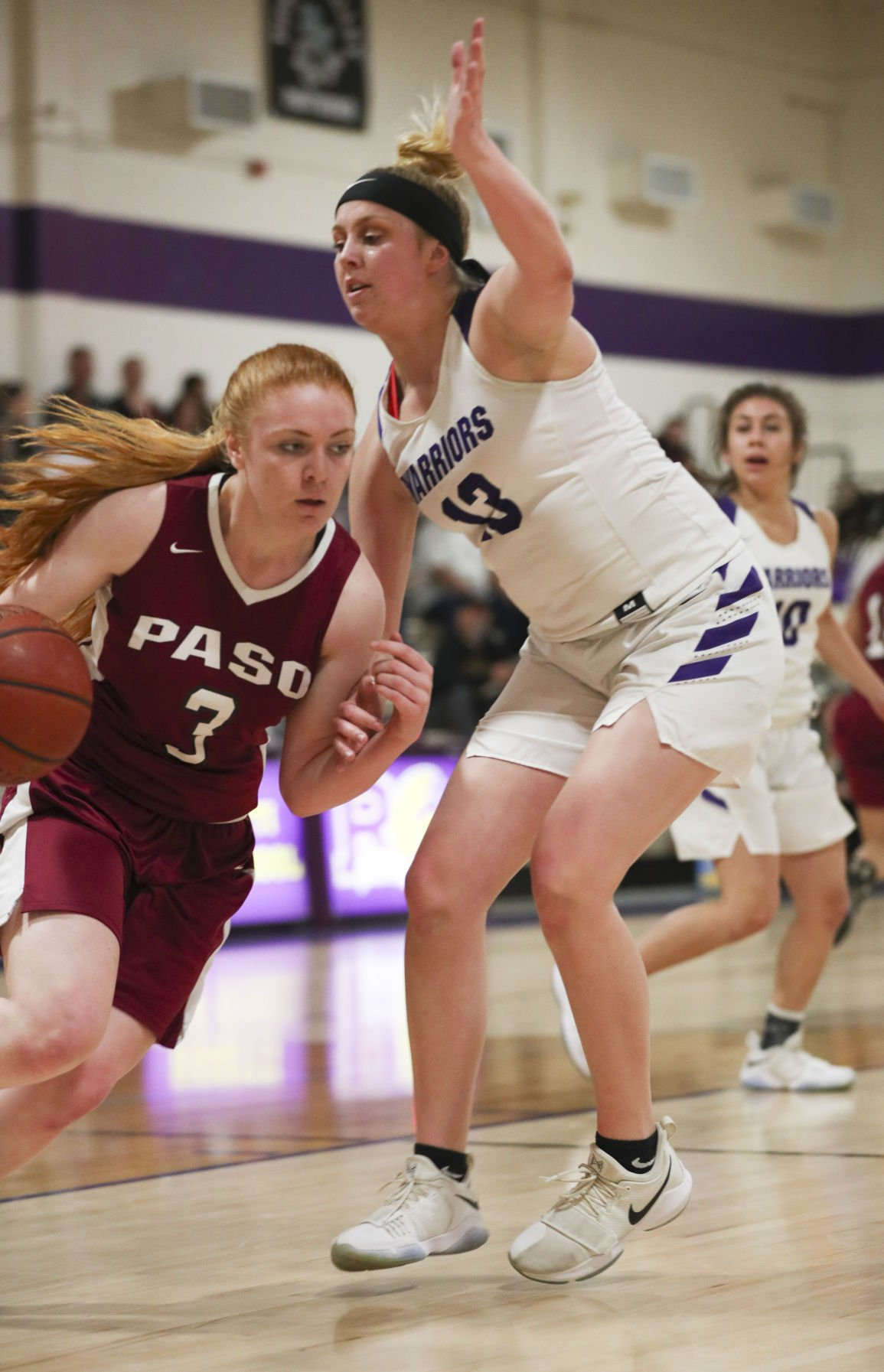 PAC 8 Girls Basketball Righetti vs Paso Robles