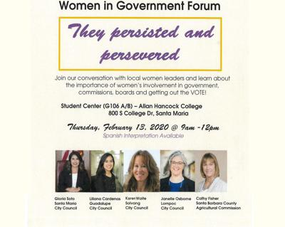 Women in Government flyer
