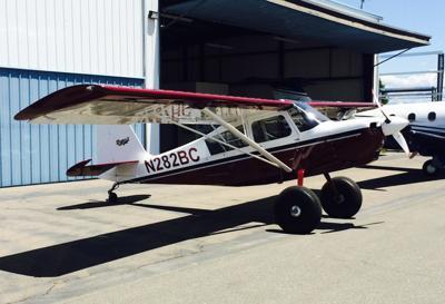 PG&E aerial patrol plane