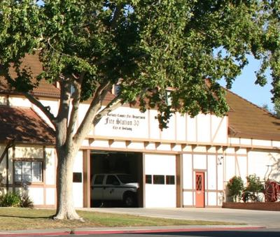 Santa Barbara County Fire Station 30 in Solvang