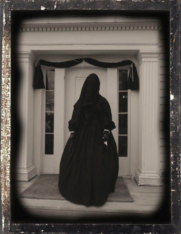 Mourning Glory' costume exhibit