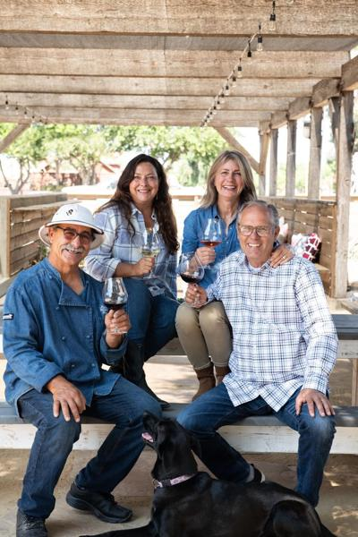 Hitching Post Wines patio