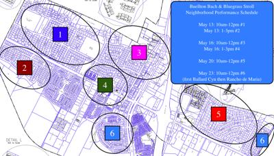 Buellton Bach & Bluegrass Stroll Map