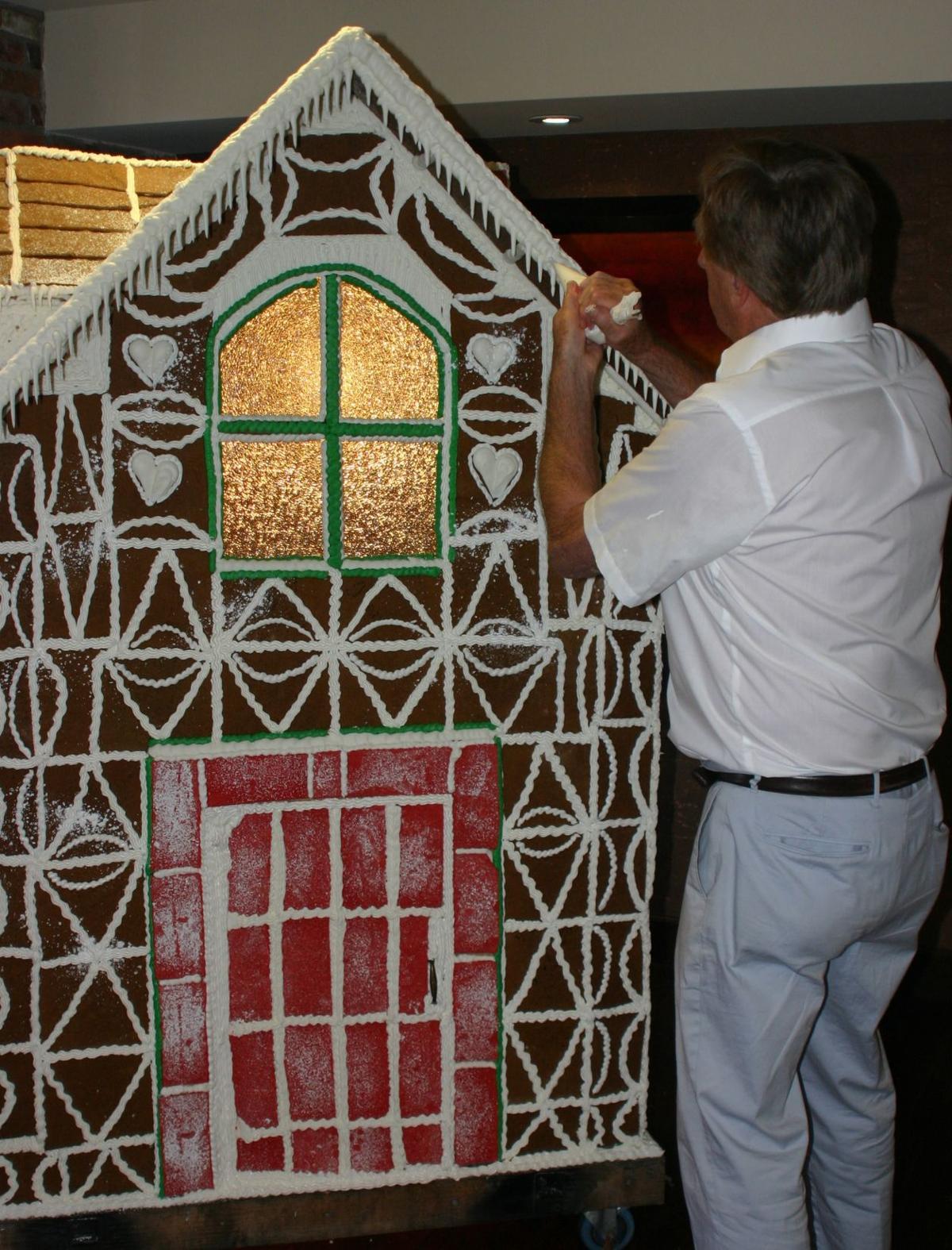 Olsen's gingerbread house