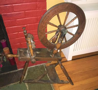 Treasures In Your Attic Saxony Spinning Wheels Fairly
