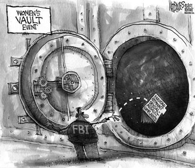 Editorial Cartoon: Assault complaints