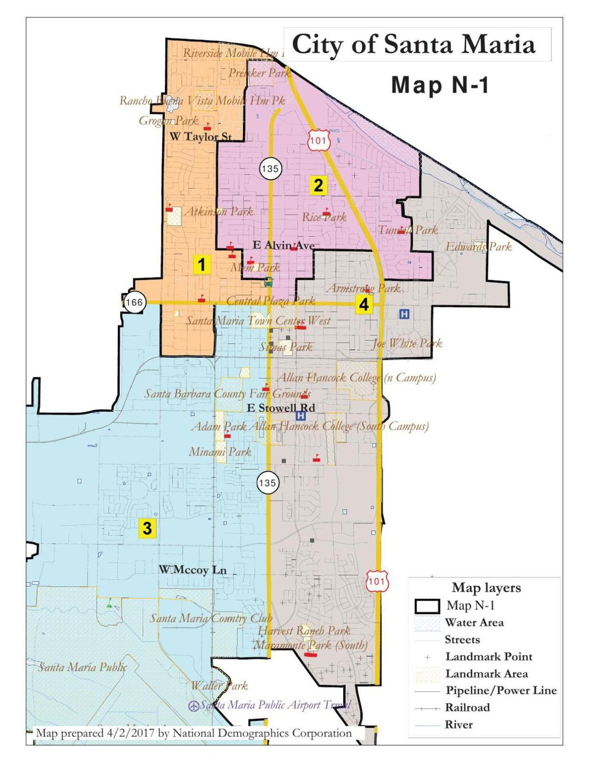 Election Districts Approved By Santa Maria Syvnews Com