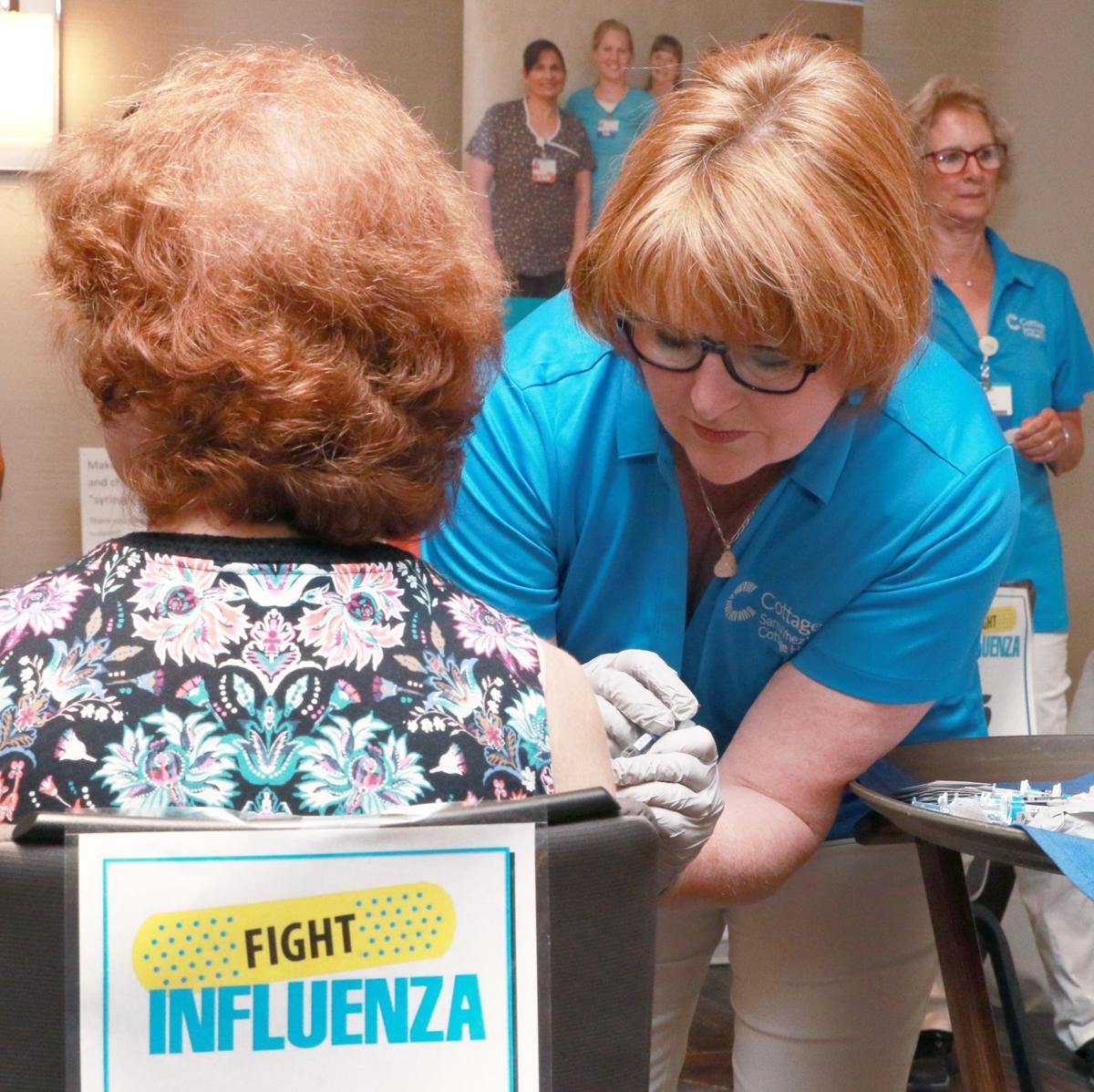 Health Fair free flu shot (copy)