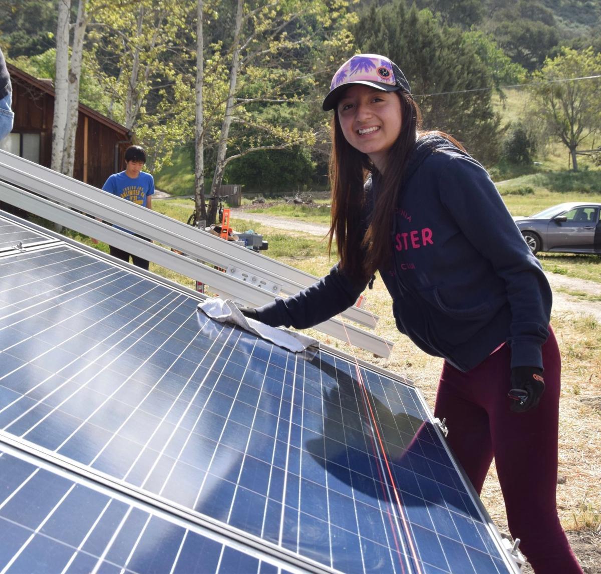 Midland School solar array 1