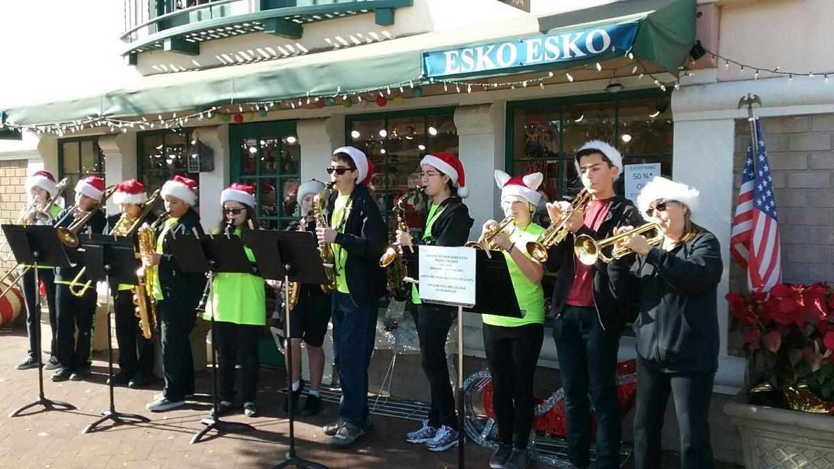 Holiday cheer in Solvang