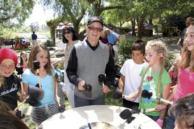 Drum maker, Grateful Dead player helping local students