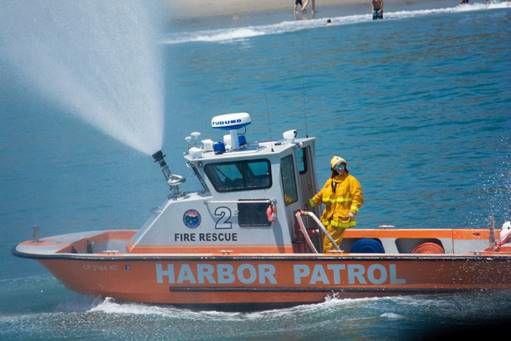 Santa Barbara Harbor Patrol Fire Boat