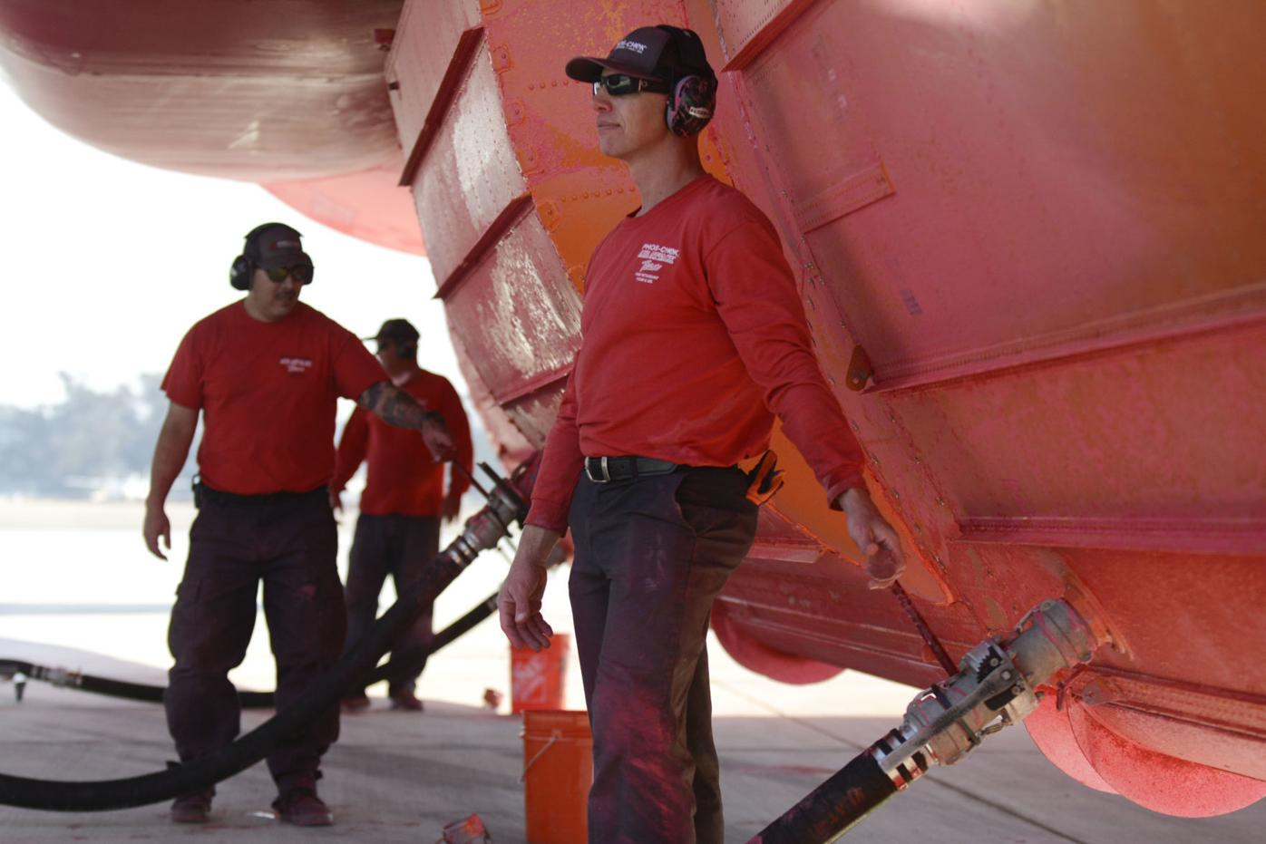 Photos: Behind Santa Maria's firefighting air tanker base