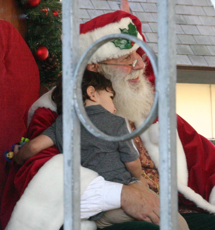 Julefest visit with Santa in Solvang