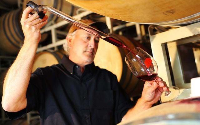 Beckmen winemaker Steve Beckmen