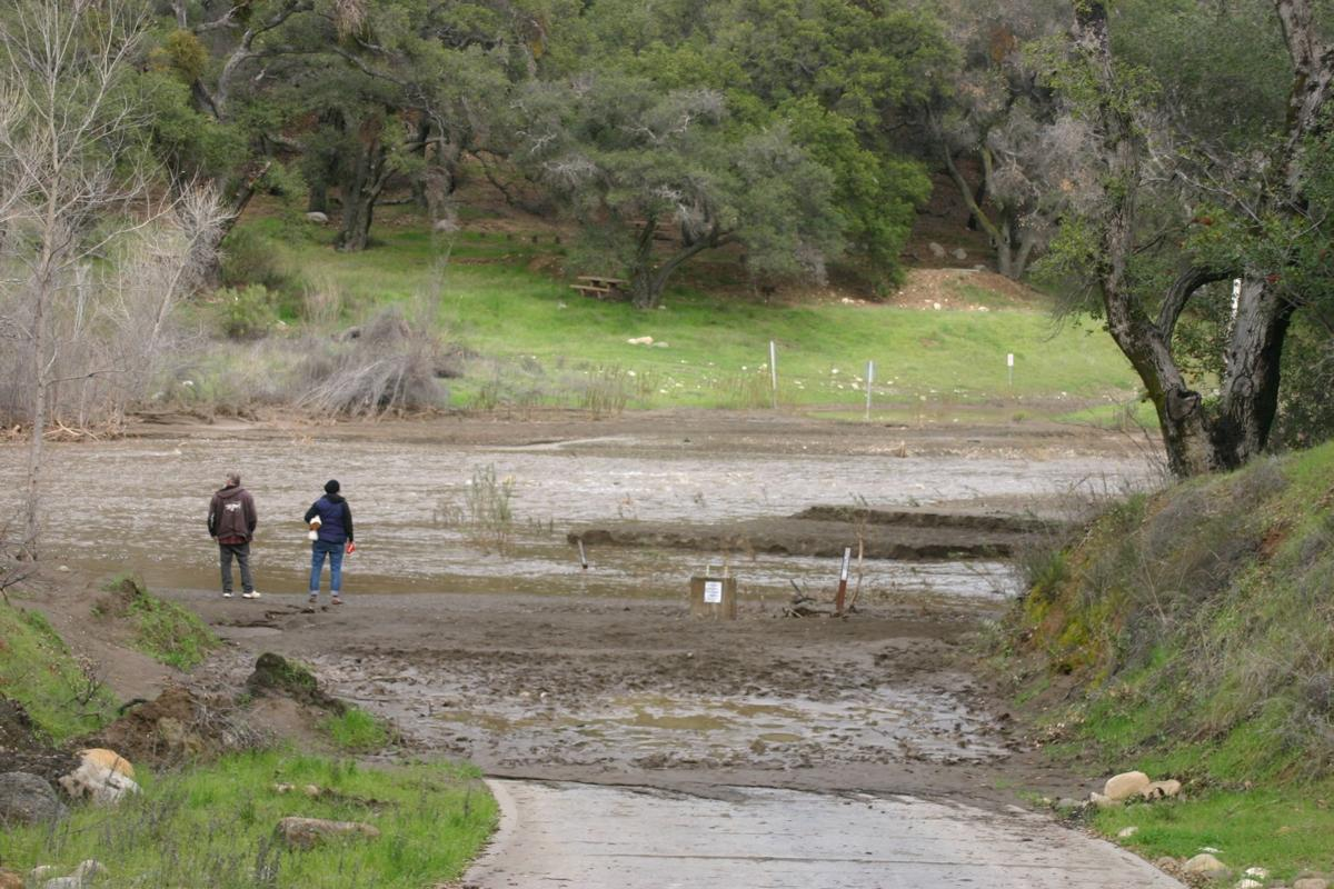Wet storm taking aim at santa ynez valley local syvnews couple at first crossing on santa ynez river freerunsca Gallery