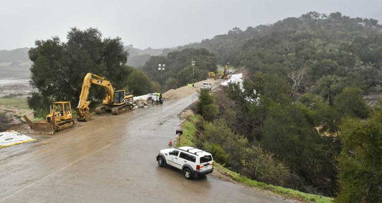 Highway 154 expected to remain closed through mid-March following