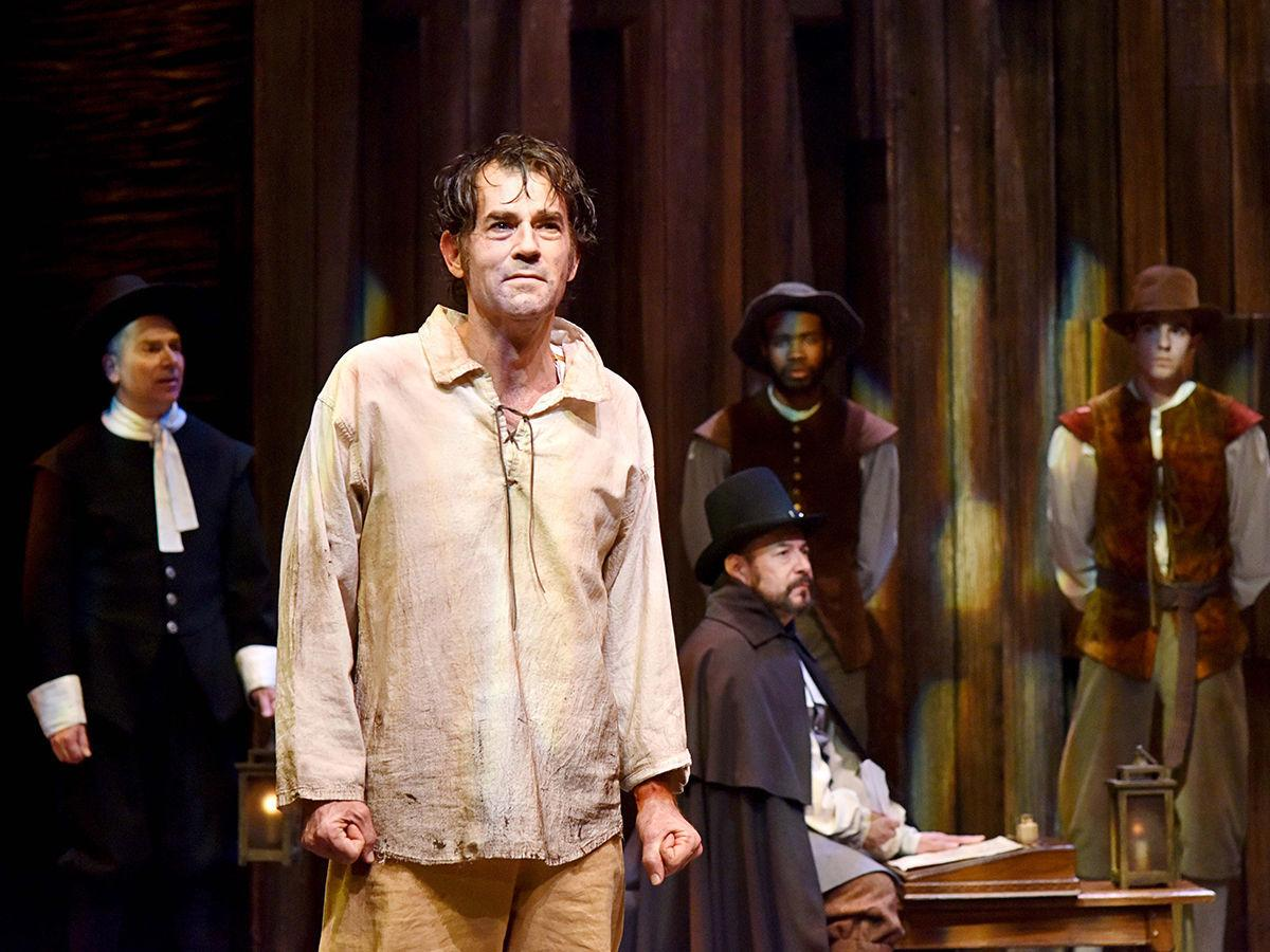 """Andrew Philpot as John Proctor in """"The Crucible."""""""