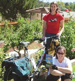 Long bike trek is a teaching experience