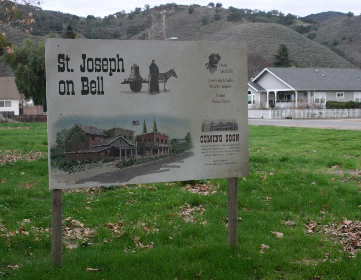 St. Joseph on Bell sign in Los Alamos